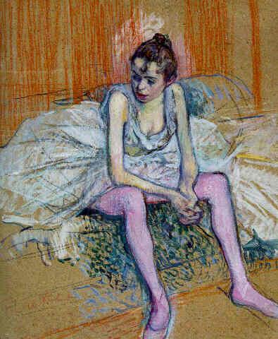 Henri de toulouse lautrec paintings drawings prints for Toulouse lautrec works